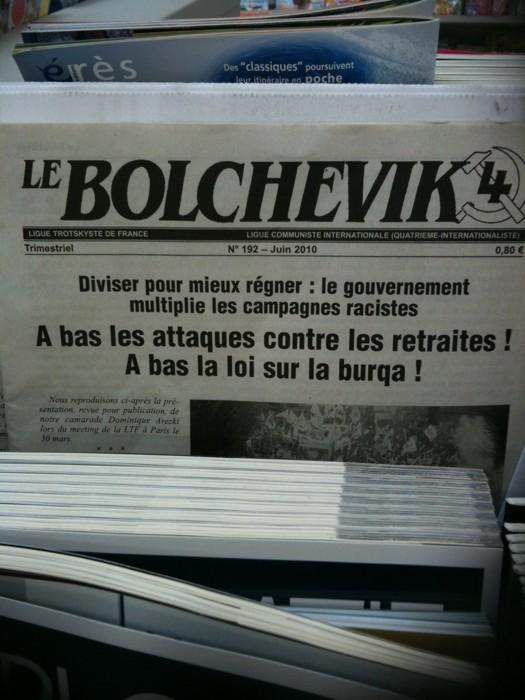 Le bolchevik et la burqa
