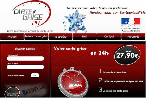 Cartegrise24.fr