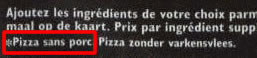 Domino's Pizza halal