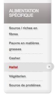 Kellogs certifiés halal