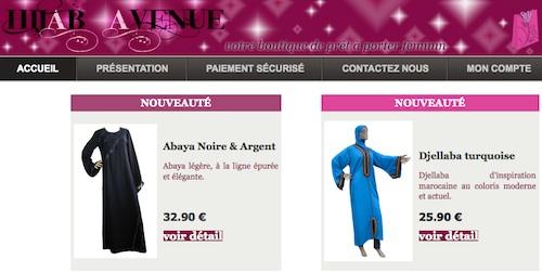 Hijab Avenue, prêt-à-porter féminin