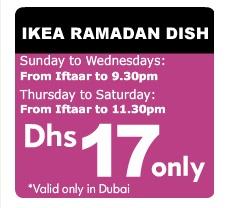 Ikea ramadan