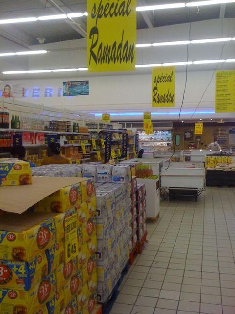 Carrefour, Ramadan, Rosny 2