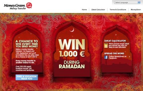 Moneygram ramadan