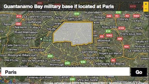 Si Guantanamo était à Paris