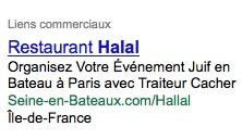 Évènement juif... halal