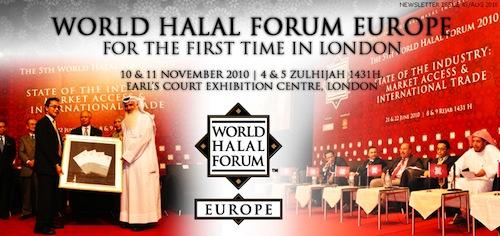 Le World Halal Forum à Londres