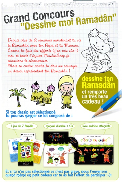 Les belles newsletters de Muslimshop