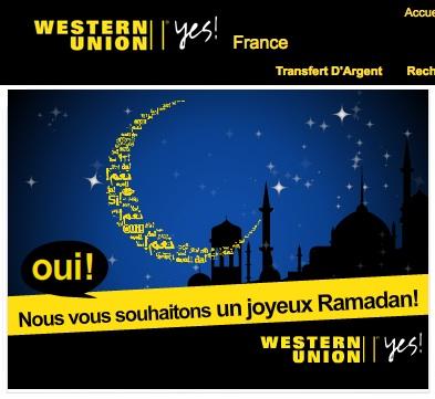 Western Union ramadan