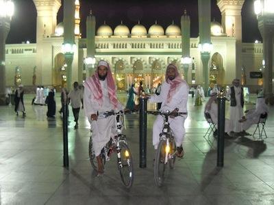 Hajj à vélo : après Salim, Ahmad et Nathim