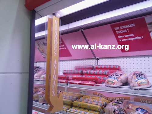 Le halal, c'est pour les animaux