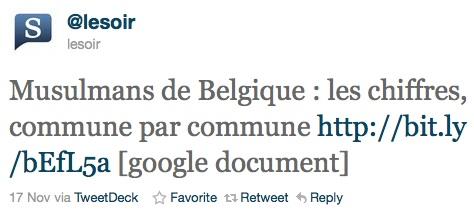 La Belgique compte ses musulmans. Et après ?