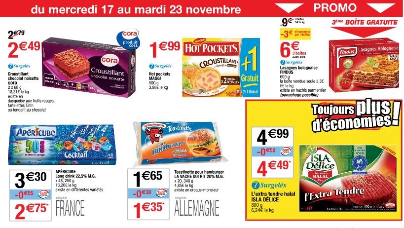Catalogue cora le halal mis en avant for Cora 11 novembre