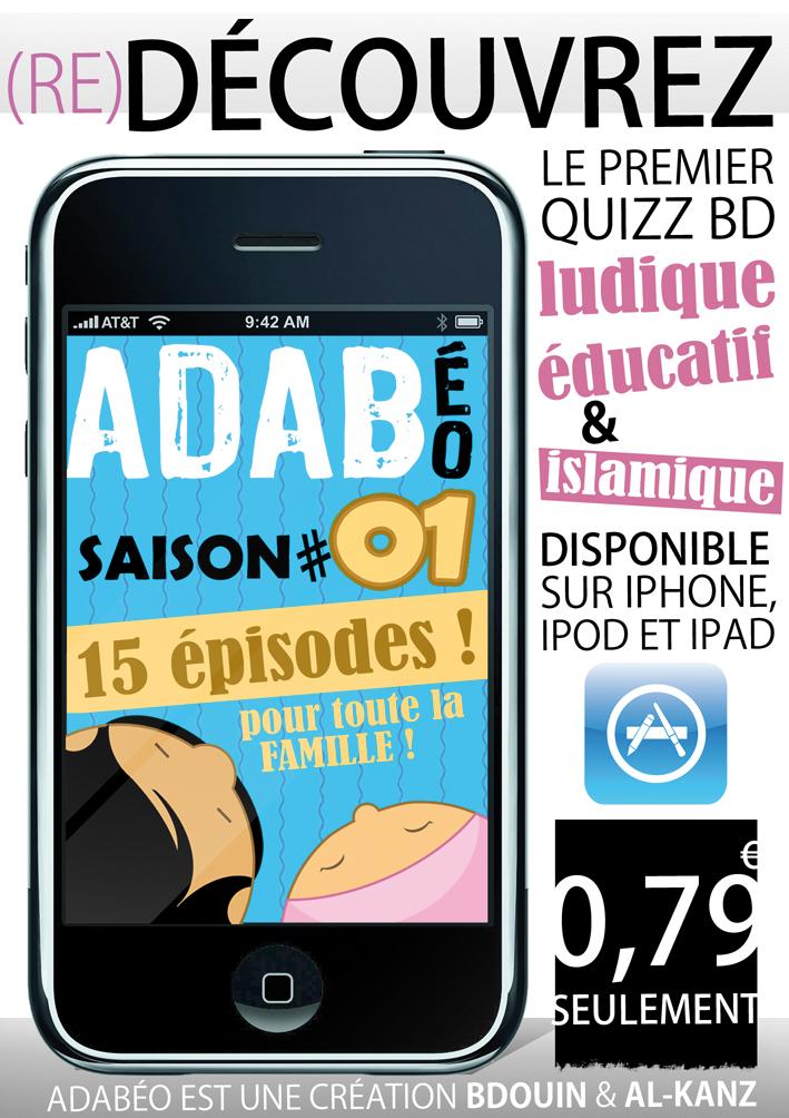 ADABéo : téléchargez l'application iPhone-iPad