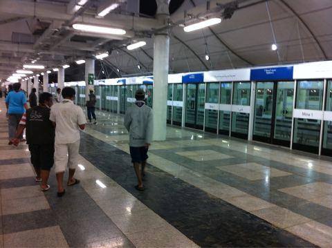 Le métro de La Mecque