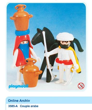 Playmobil : jamais sans mon voile