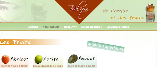 Belqis, cosmétiques naturels