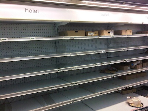 Halal Carrefour Gennevilliers