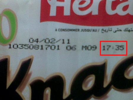 Pour Nestlé, 19h47 c'est le matin