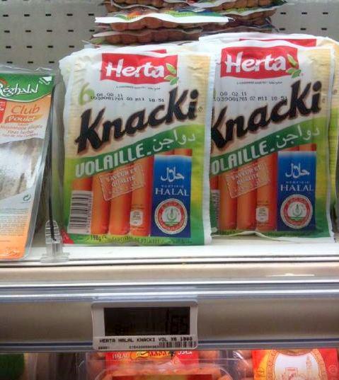 Pas de retrait des Herta halal au porc pour les méprisables musulmans