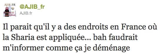 La shari'a appliquée en France. Oui, mais où ?