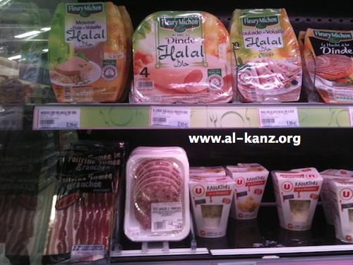 Produits halal chez Super-U