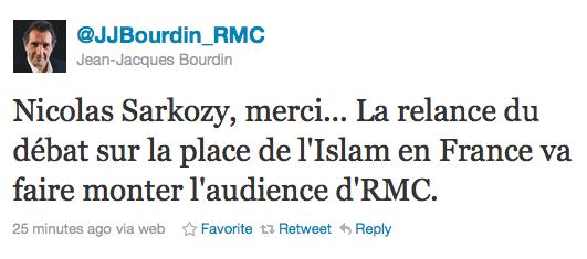Les musulmans en pâture, RMC jubile