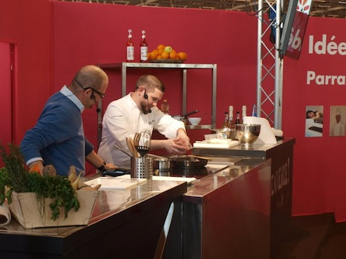 Halal mathieu pawlak chef cuisinier au salon sandwich for Salon du hajj