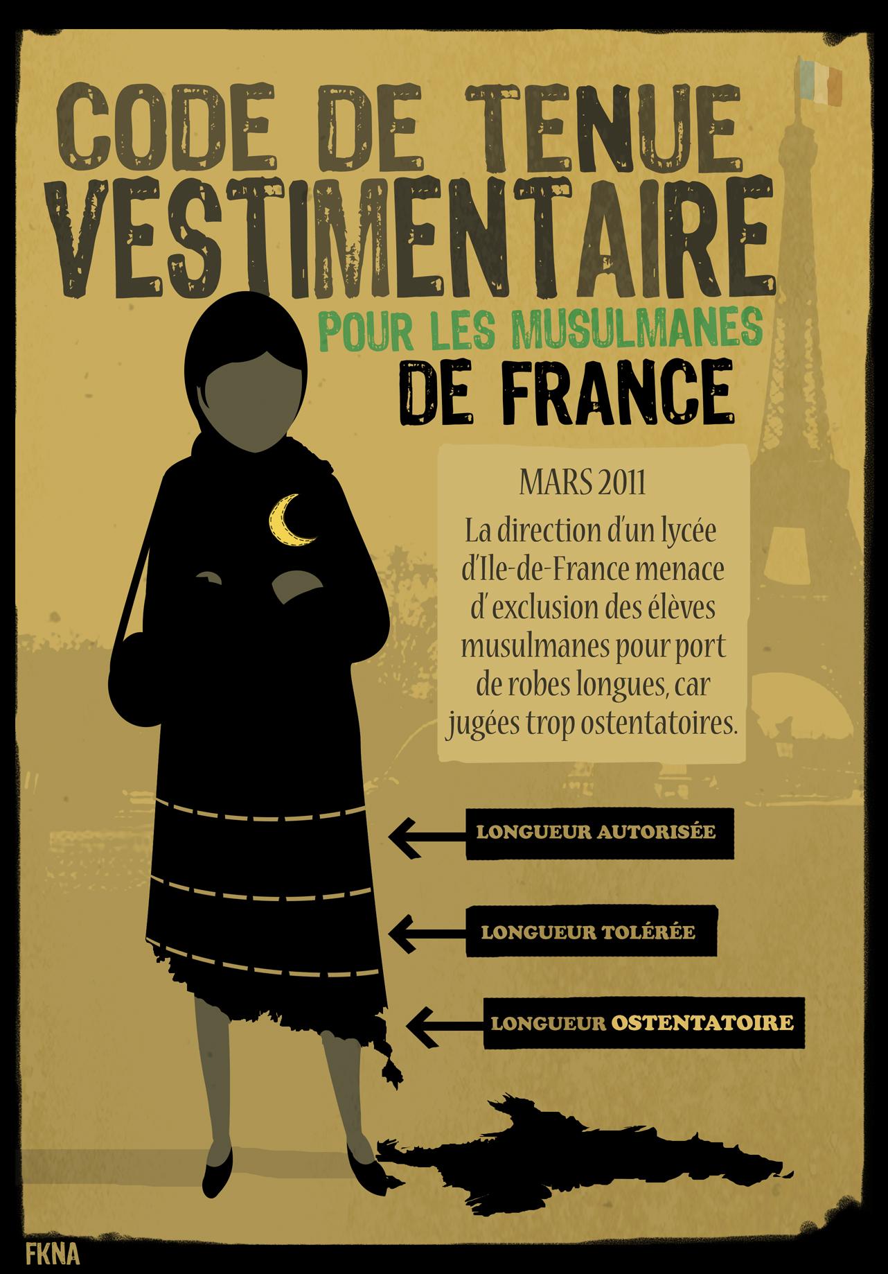 Islamophobie - des robes jugées trop ostentatoires