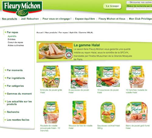 Fini les saucisses prétendument halal de Fleury Michon, le roi du cochon