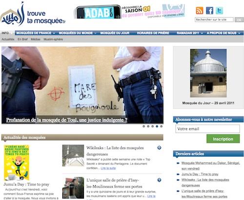 Le site Trouve ta mosquée fait peau neuve