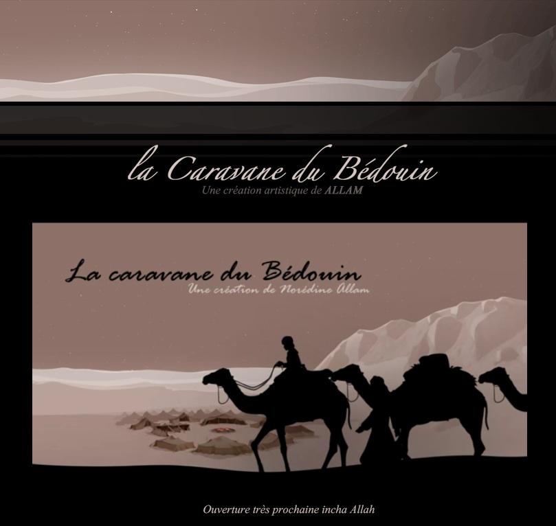 la caravane du bédouin