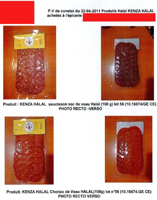 Kenza halal porc