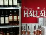 carrefour halal alcool