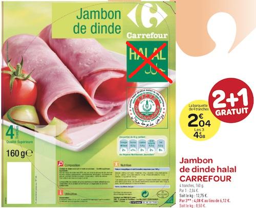 Après le halal, une dent contre Carrefour et Bigard