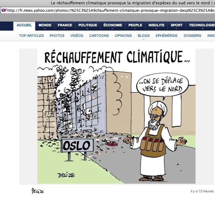 Islamophobie : fail de Delize sur Yahoo.fr