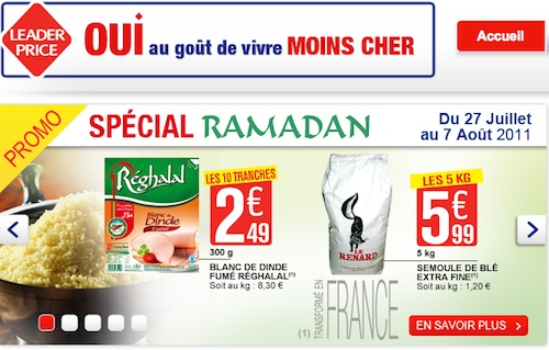 Ramadan pour Leader Price