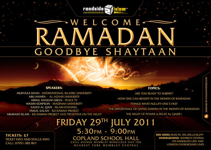 Welcome ramadan, Goodbye Shaytan