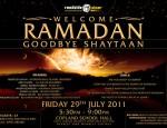 Welcome ramadan, Goodbye Shaytaan
