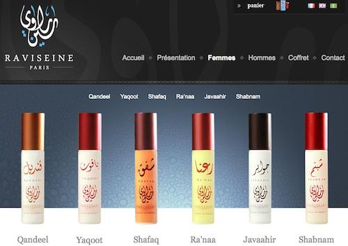 Raviseine parfums