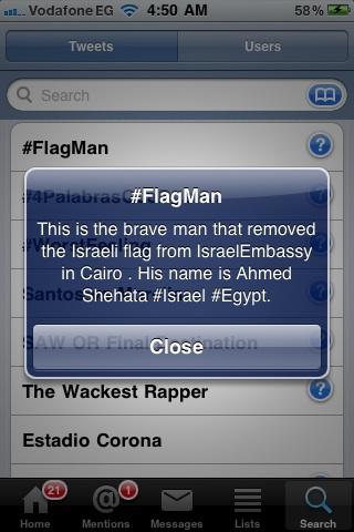 Flagman, héros égyptien