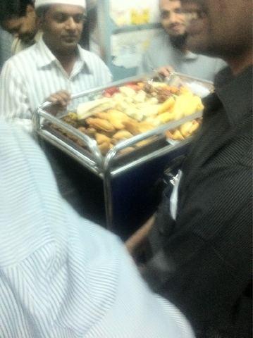 Iftar sur rail