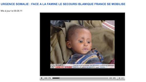 Somalie Secours islamique France