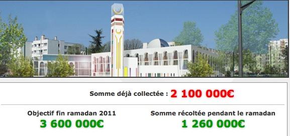 Mosquée d'Aulnay : les travaux continuent
