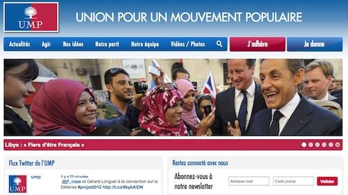 L'UMP aime les femmes voilées... à l'étranger