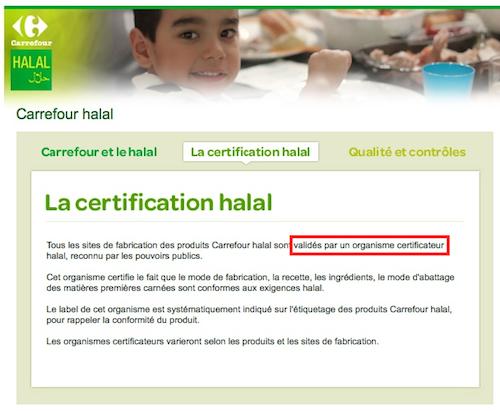 Carrefour halal : l'enfumage continue
