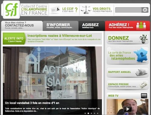 Nouveau site Internet pour le CCIF