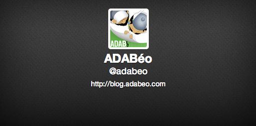 adabeo sur twitter