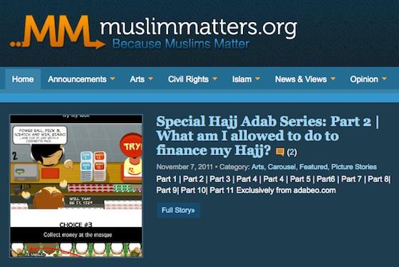 ADabéo en anglais sur Muslimmatters