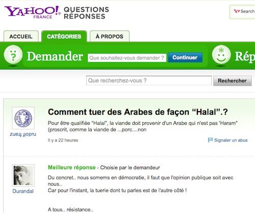 Comment tuer des Arabes de façon halal